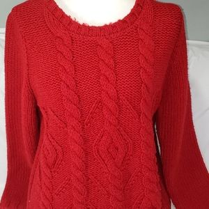 Banana Republic heritage cable knit sweater sz XL